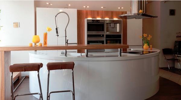 , Как определиться с расположением кухонного гарнитура?