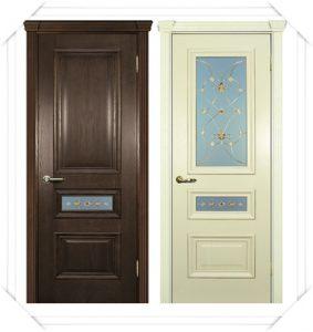 Двери темные и светлые